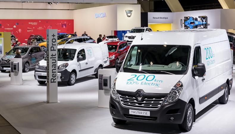 Renault Master nun als E-Transporter vorgestellt !!! - Elektroauto Forum